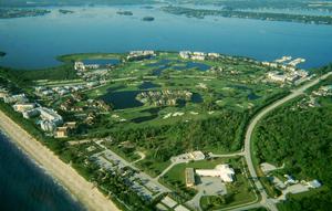 Aerial View on Hutchinson Island