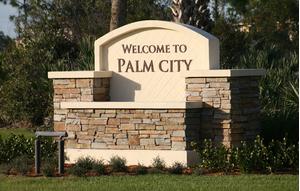 Palm City Entrance